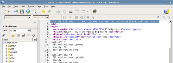 Editor HTML Mac