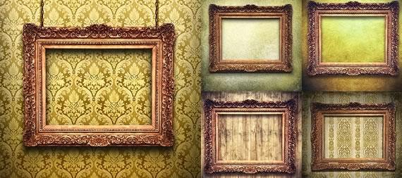 Marcos Antiguos Para Pinturas Imagui