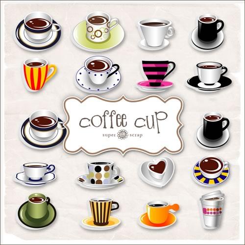 Tazas con cafe para colorear - Imagui