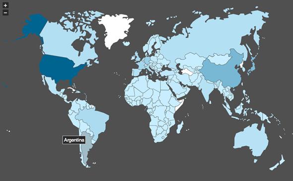 Mapas interactivos con jQuery