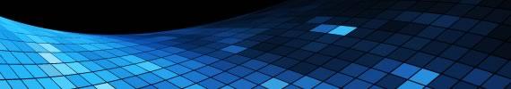 Wallpaper con grilla en cuadrados de distintos valores de azul
