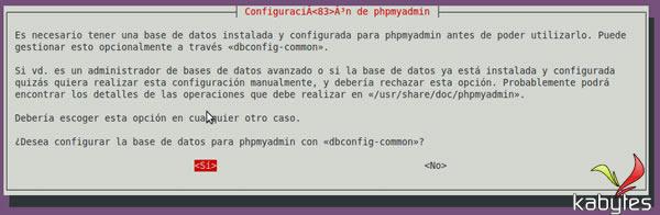 config phpmyadmin ubuntu