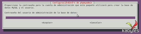 final instalacion phpmyadmin