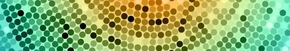 Walpaper con mosaico circular