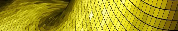 Wallpaper con onda dorada hecha con una grilla