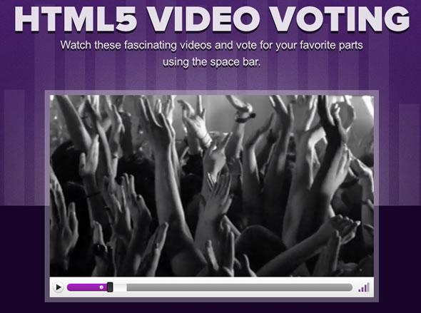 html5 video votar jquery