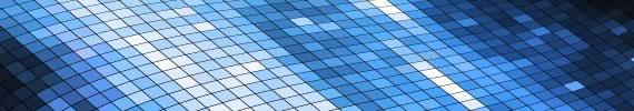 Wallpaper con grilla diagonal en tonos de azul