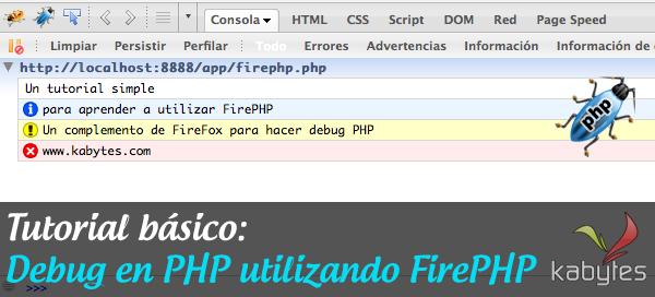 tutorial debug php firephp