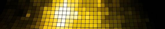 Wallpaper de grilla dorada en perspectiva