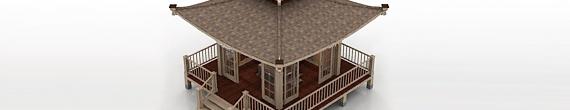 Modelos 3D de casas