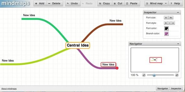 herramienta crear mapas mentales