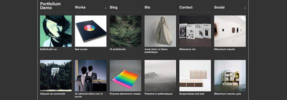 Themes de WordPress para galerías