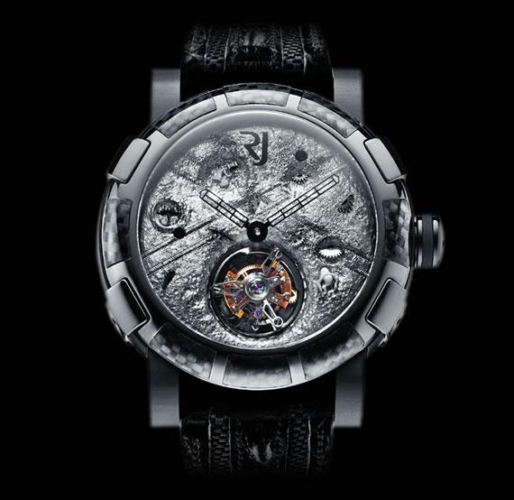 Reloj pulsera estilo lunar de Romain Jerome