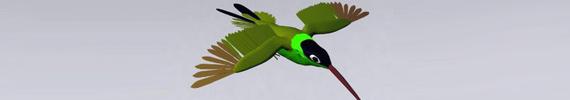 Modelos de animales en 3D