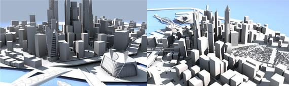 Ciudad completa en 3D gratis