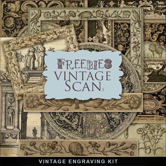 Diferentes marcos y guardas ornamentadas estilo barroco y renacentista