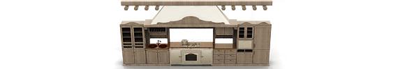 Modelos 3D de cocinas