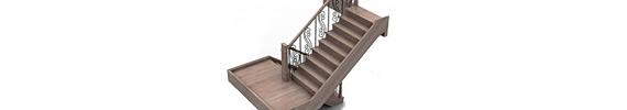 Modelos 3D de escaleras