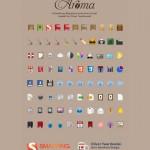 Vista previa de paquete de íconos Aroma