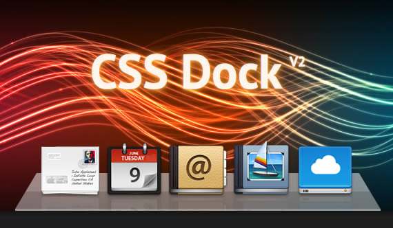dock mac os con CSS3