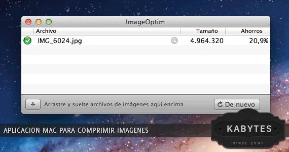 programa mac comprimir y optimizar imágenes