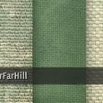 Muestrario de texturas de lino verde de FarFarHill