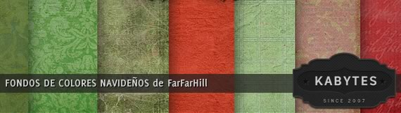 Vista previa de fondos de colores navideños