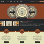 Digital Rust: plantillas para web completa en PSD