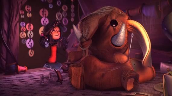 Captura de escena del corto de animación Jolie Bobine