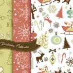 Vista previa de texturas navideñas