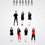 Vista previa de siluetas femeninas de modelos