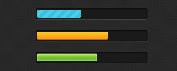 barra de progreso css3