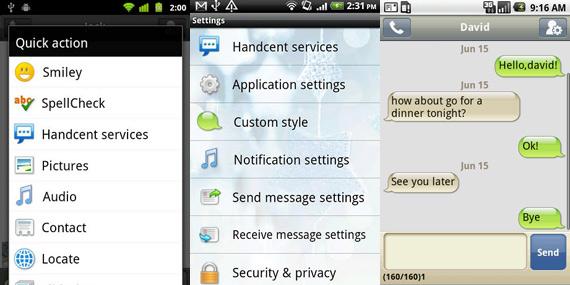 Mejorar la mensajería en Android