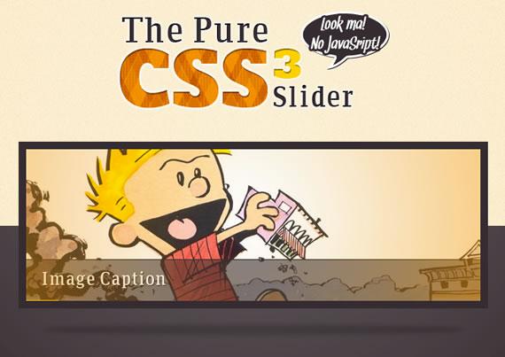 slider de imagenes sin javascript y con CSS3