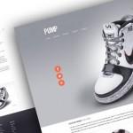 Preview de Pump, plantilla para web de producto en PSD