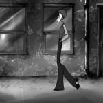Frame de Skip, corto de animación por Sarah Jolley