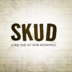 Skud: nueva fuente estilo grunge
