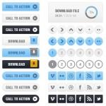 Completa UI gratis y en formato PSD
