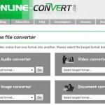 Convertir archivos online