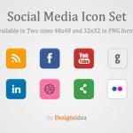 Iconos sociales gratuitos