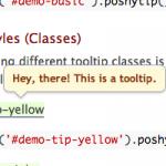 Plugin jQuery para crear Tooltips