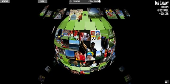 visualizar imagenes de flickr por tematica