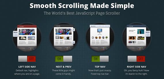barra de navegación móvil con JavaScript