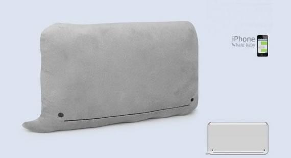Almohadón iPhone Whale