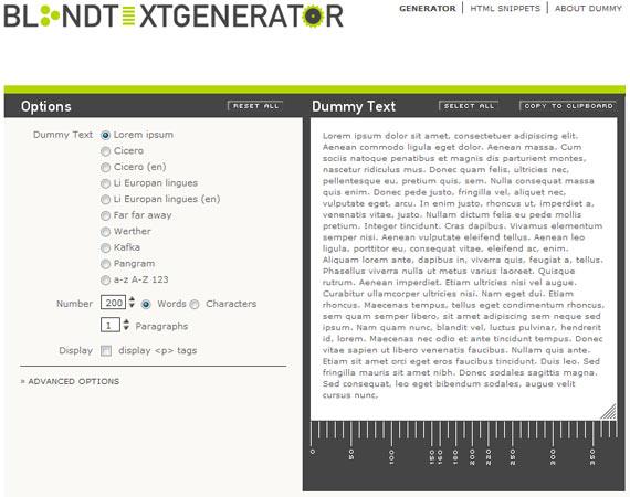 Generador de texto