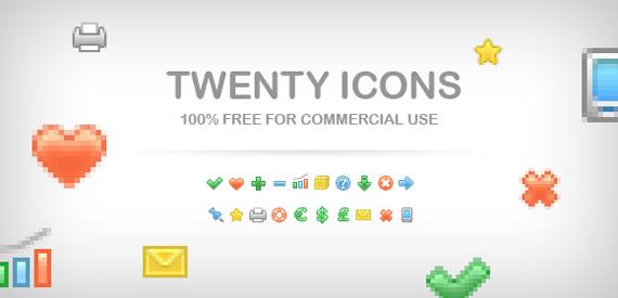 Mini iconos para sitios web