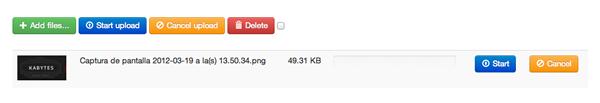 upload de archivos con previsualización jQuery