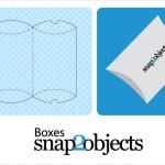 Vista previa de una de las opciones de cajas para merchandizing