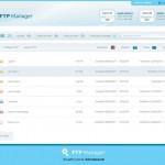 Vista previa de plantilla para gestor de FTP en PSD