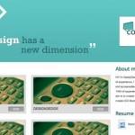 Plantilla para portfolio web en HTML/CSS